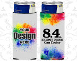 8.4 Oz Full Color Energy Drink Coolies